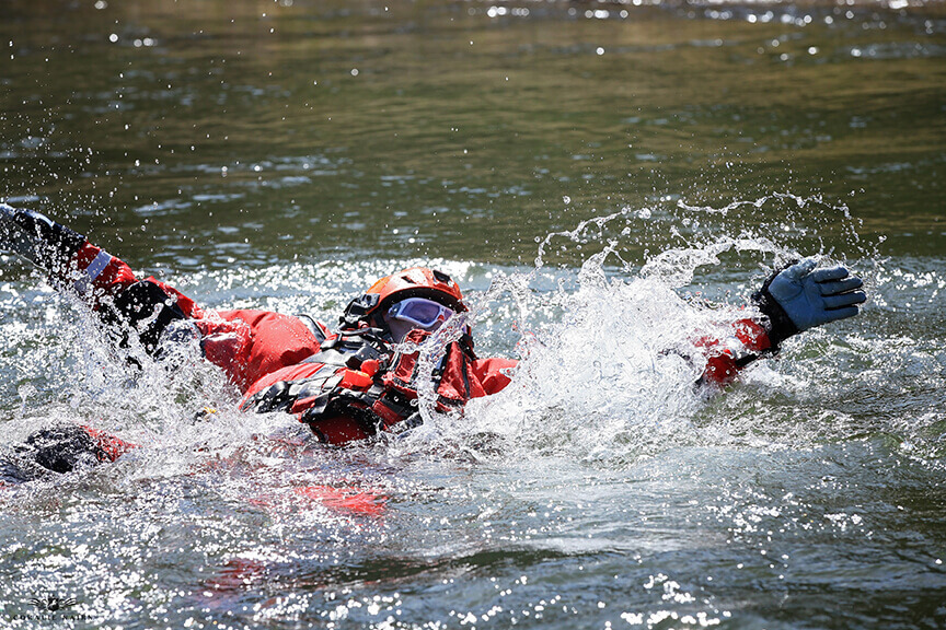 Swiftwater Training on the Shuswap