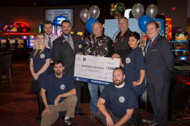 Thank you, Gateway Casinos for your generous donation and support for our volunteer team at Vernon Search & Rescue!