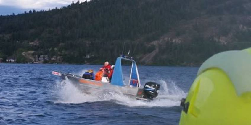 Okanagan Lake Rescue 2016